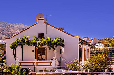 Andalusian White House. Spain Art Print by Jenny Rainbow