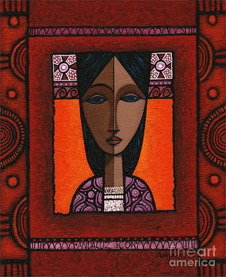 Painting - Andaluz Icon by Terry Durham