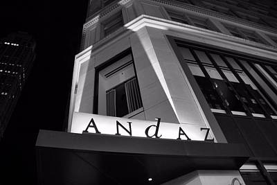 Rockefeller Plaza Photograph - Andaz Hotel On 5th Avenue by Dan Sproul