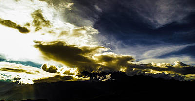 Photograph - Andean Cloudwork by Tyler Lucas