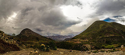 Photograph - Andean Hills by Tyler Lucas