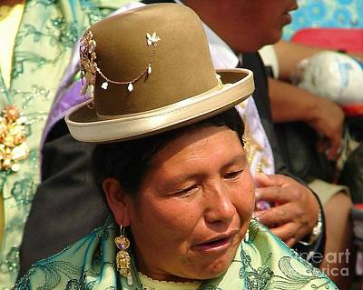 Photograph - Andean Pride by Lew Davis