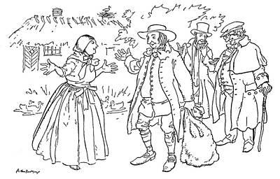 Andersen Good Man Art Print by Granger