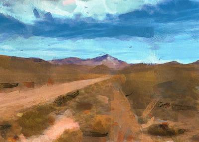 Digital Art - Andes Landscape 2 by Yury Malkov