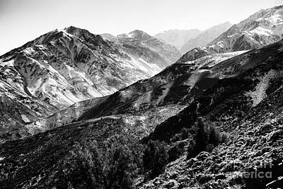 Photograph - Andes Peak by John Rizzuto