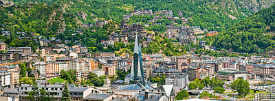 Photograph - Andorra La Vella City by Gurgen Bakhshetsyan