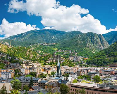 Photograph - Andorra La Vella by Gurgen Bakhshetsyan