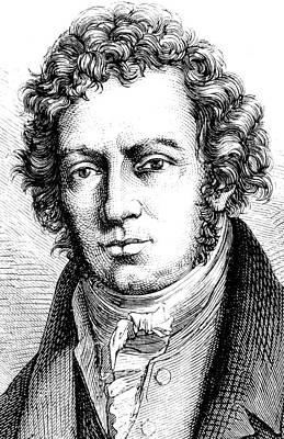 Andre-marie Ampere Print by Collection Abecasis