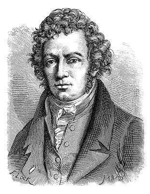 Andre-marie Ampere Print by Science Photo Library