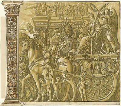 Andrea Andreani After Andrea Mantegna, Italian Art Print