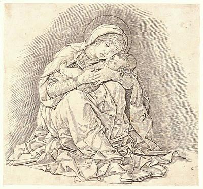 Andrea Mantegna Italian, Ca. 1431 - 1506. The Virgin Art Print