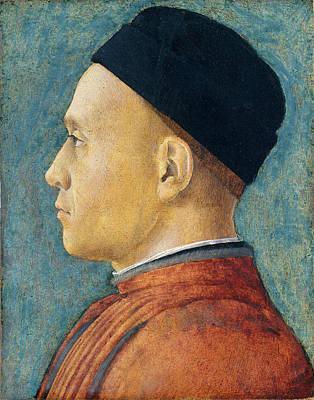 Andrea Mantegna, Portrait Of A Man, Italian Art Print