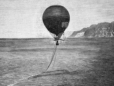 Arctic Air Photograph - Andree's North Pole Balloon Attempt by Bildagentur-online/tschanz