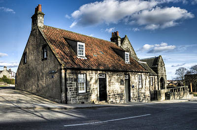 Photograph - Andrew Carnegie's Birthplace by Ross G Strachan