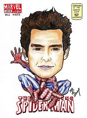 Andrew Garfield - Spiderman Art Print