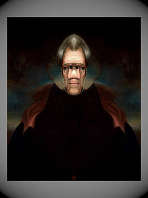 Digital Art - Andrew Jackson 3  by Zac AlleyWalker Lowing