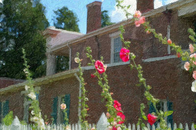 Photograph - Andrew Jackson Home by Kathy Williams-Walkup