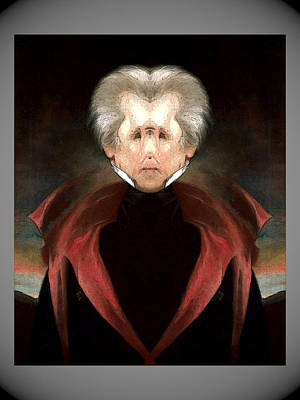 Digital Art - Andrew Jackson by Zac AlleyWalker Lowing