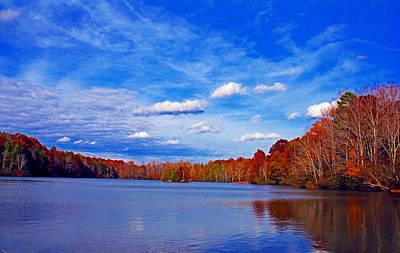 Andrew State Park Lake Art Print