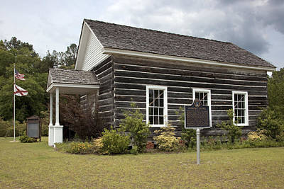 Photograph - Andrew's Chapel In Mcintosh by Carol M Highsmith