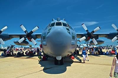 Photograph - Andrews J B Air Show 15 by Ricardo J Ruiz de Porras