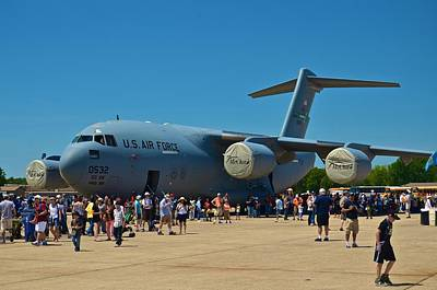 Photograph - Andrews J B Air Show 18 by Ricardo J Ruiz de Porras