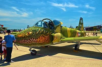 Photograph - Andrews J B Air Show 8 by Ricardo J Ruiz de Porras