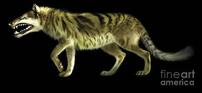 Anger Digital Art - Andrewsarchus Lived During The Eocene by Jan Sovak