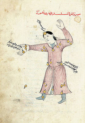 Sufi Photograph - Andromeda Constellation by Library Of Congress