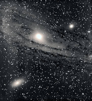 Andromeda Galaxy Original by Jim Brockett