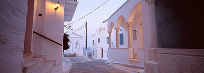Quiet Town Photograph - Andros, Greece by Panoramic Images