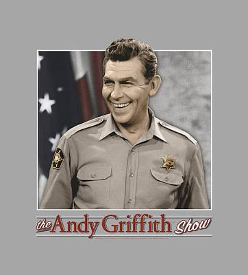 Andy Griffith Show Digital Art - Andy Griffith - All American by Brand A