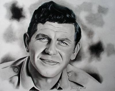 Andy Griffith Drawing - Andy Griffith by Samantha Howell