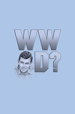 Andy Griffith Show Digital Art - Andy Griffith - Wwad by Brand A