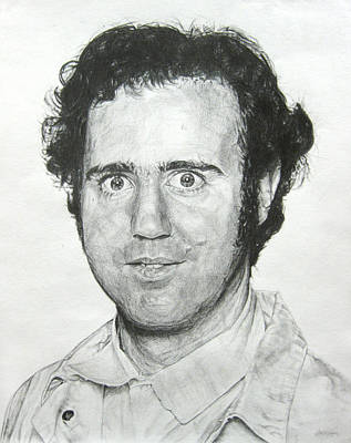 Drawing - Andy Kaufman by Michael Morgan