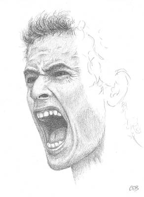 Andy Murray Sketch Art Print by Conor OBrien