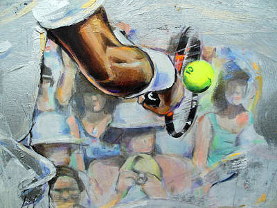Andy Murray - Wimbledon 2013 Original by Lucia Hoogervorst
