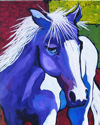 Painting - Andy's Pony by Dennis Jones