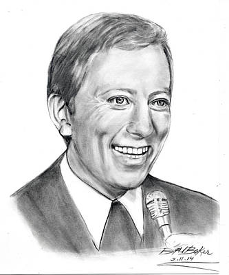 'andywilliams' Art Print by Barb Baker