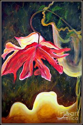 Painting - Anemone Me by Jolanta Anna Karolska