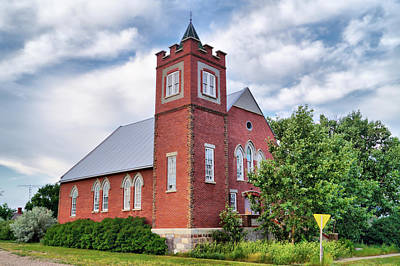 Photograph - Aneroid United Church by Blair Wainman