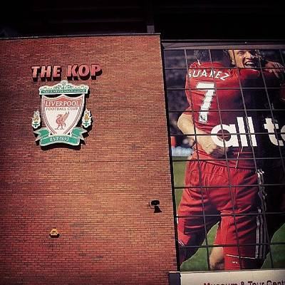 Sports Photograph - Anfield - Liverpool #football #club by Abdelrahman Alawwad