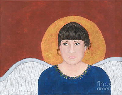 Painting - Angel 6 by Billinda Brandli DeVillez