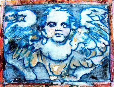 Angel 6 Art Print by Maria Huntley