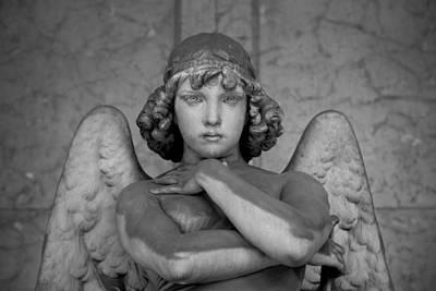 Angel  Art Print by A Rey
