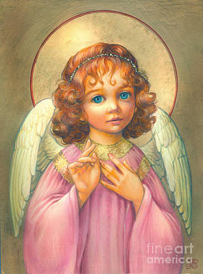 Angel Child Art Print