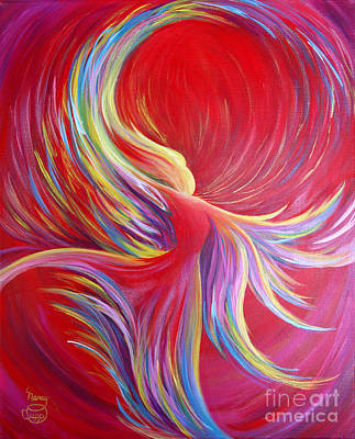 Painting - Angel Dance by Nancy Cupp