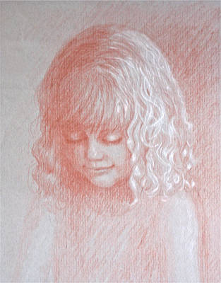 Angel Art Print by Deborah Dendler