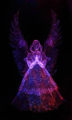 Angel Dots Art Print