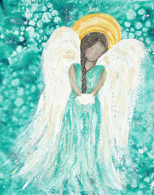 Angel Dreams Art Print
